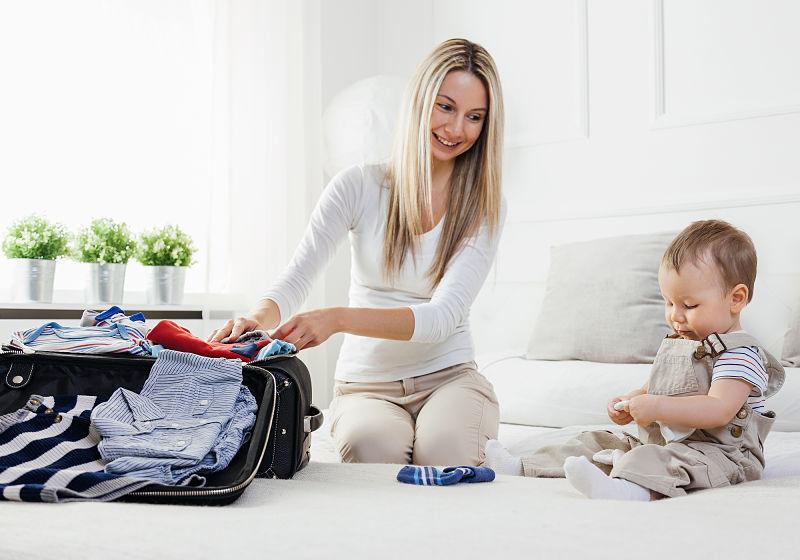 O que levar na mala do bebê