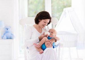 Amamentando bebê
