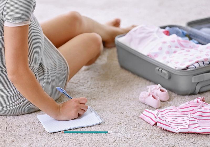 como montar a mala do bebê que nasce no verão