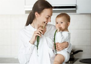 Dicas para aliviar Cólica em bebê alimentos